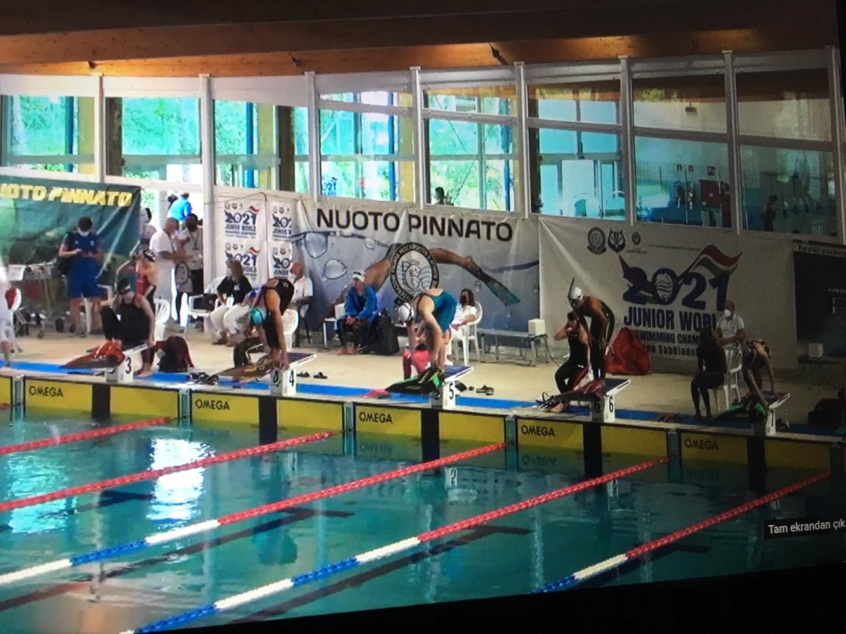 Paletli Yüzme Genç Milli Takımı İtalya da dünya şampiyonu #3