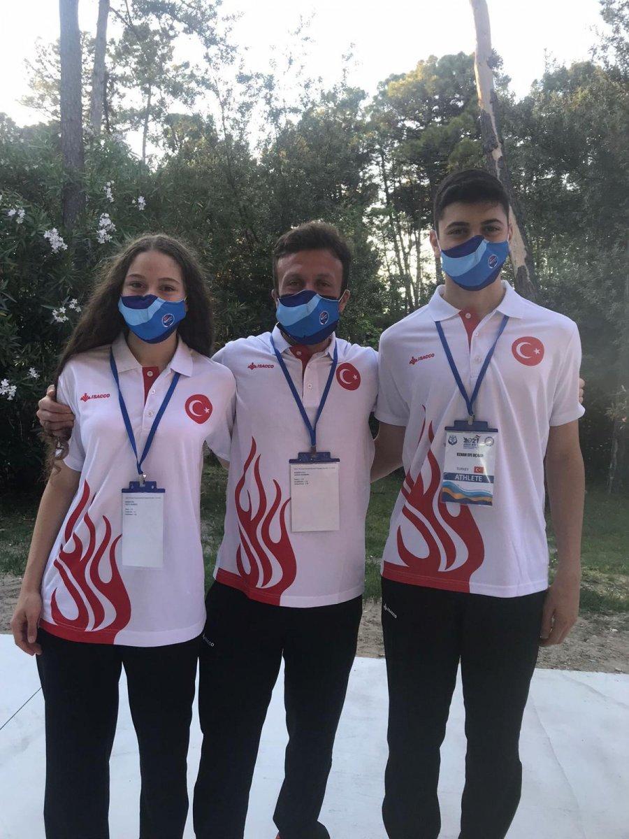Paletli Yüzme Genç Milli Takımı İtalya da dünya şampiyonu #7
