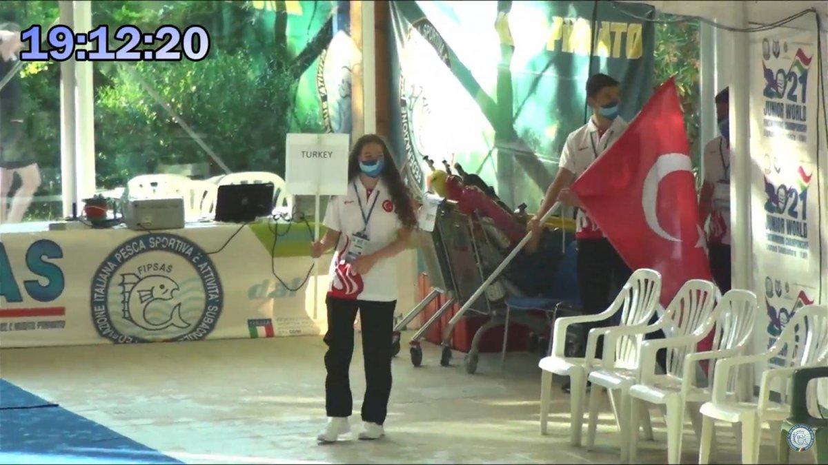 Paletli Yüzme Genç Milli Takımı İtalya da dünya şampiyonu #6