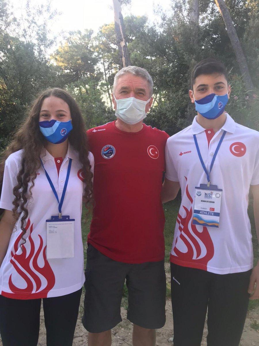 Paletli Yüzme Genç Milli Takımı İtalya da dünya şampiyonu #4
