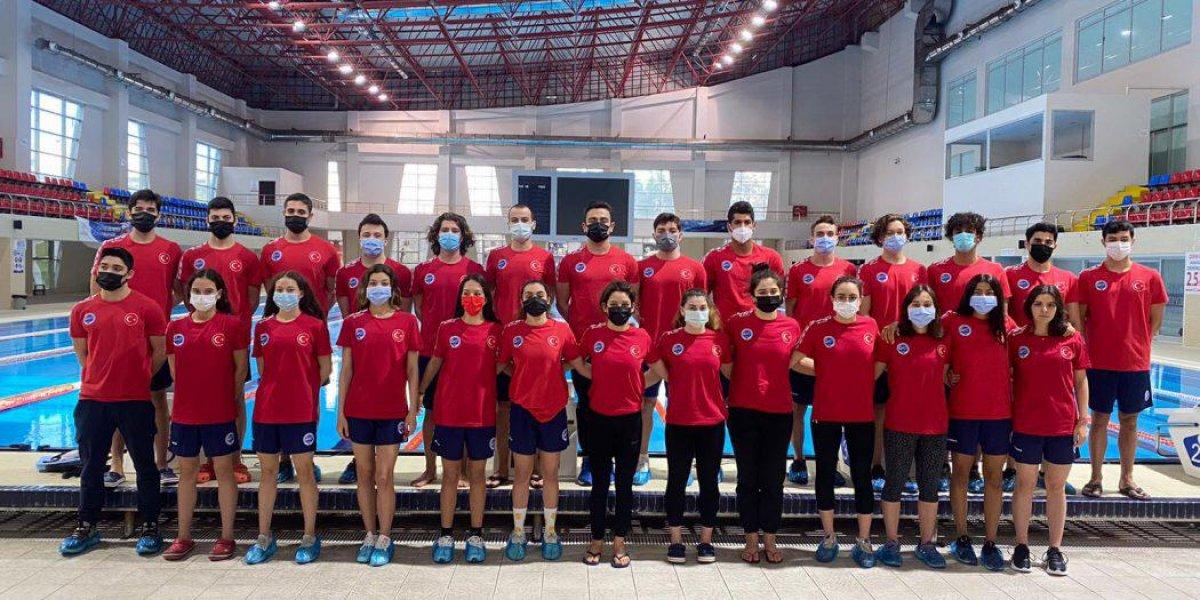 Paletli Yüzme Genç Milli Takımı İtalya da dünya şampiyonu #8