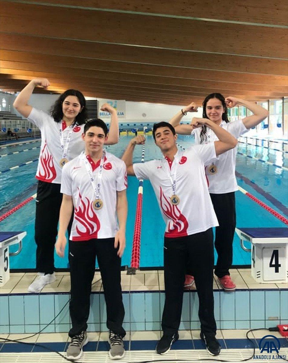 Paletli Yüzme Genç Milli Takımı İtalya da dünya şampiyonu #2