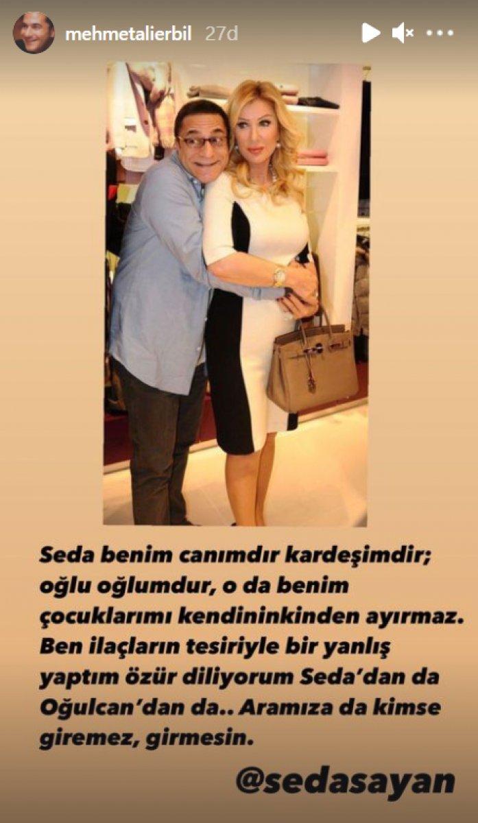 Mehmet Ali Erbil: Yanlış yaptım, özür diliyorum #1