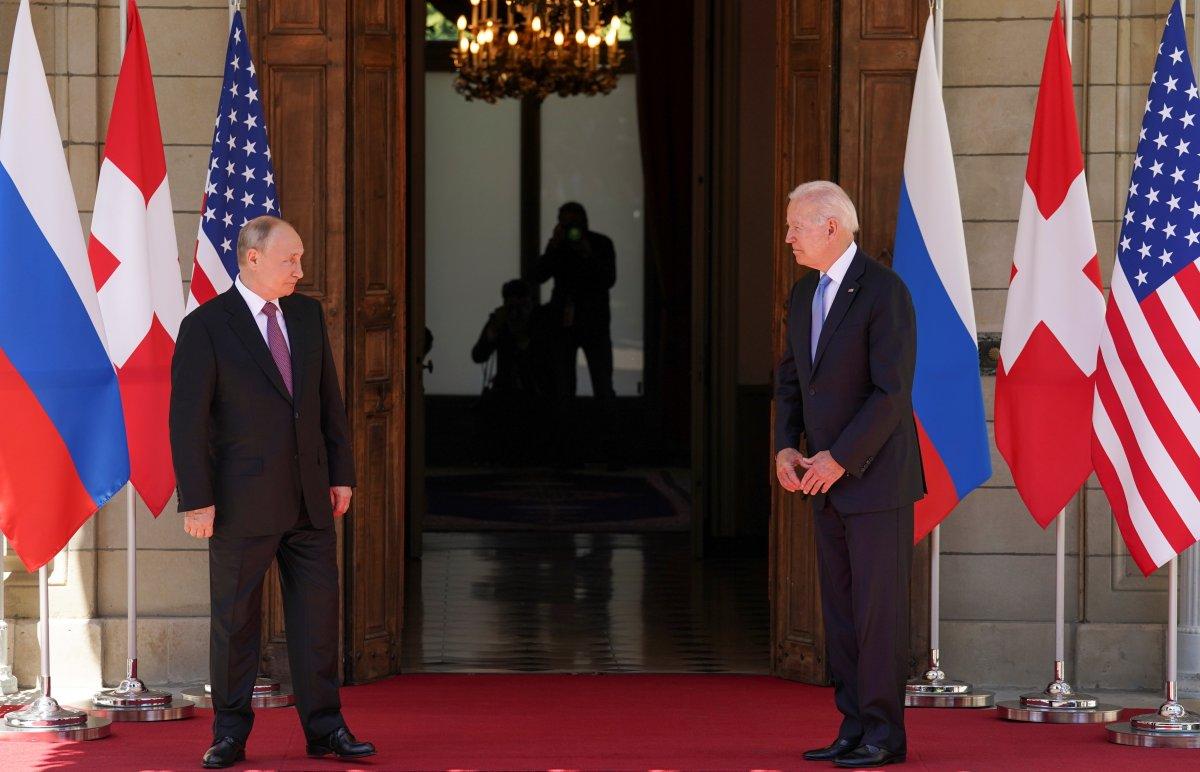 Joe Biden ve Vladimir Putin in görüşmesi başladı #7