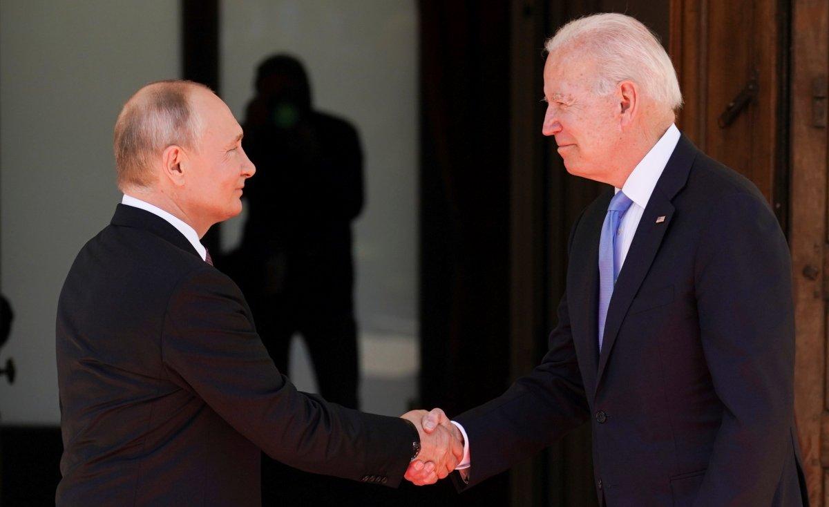Joe Biden ve Vladimir Putin in görüşmesi başladı #5