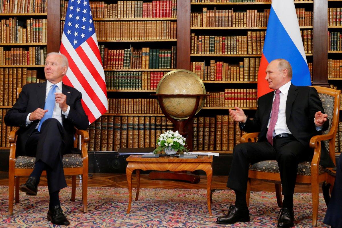 Joe Biden ve Vladimir Putin in görüşmesi başladı #2