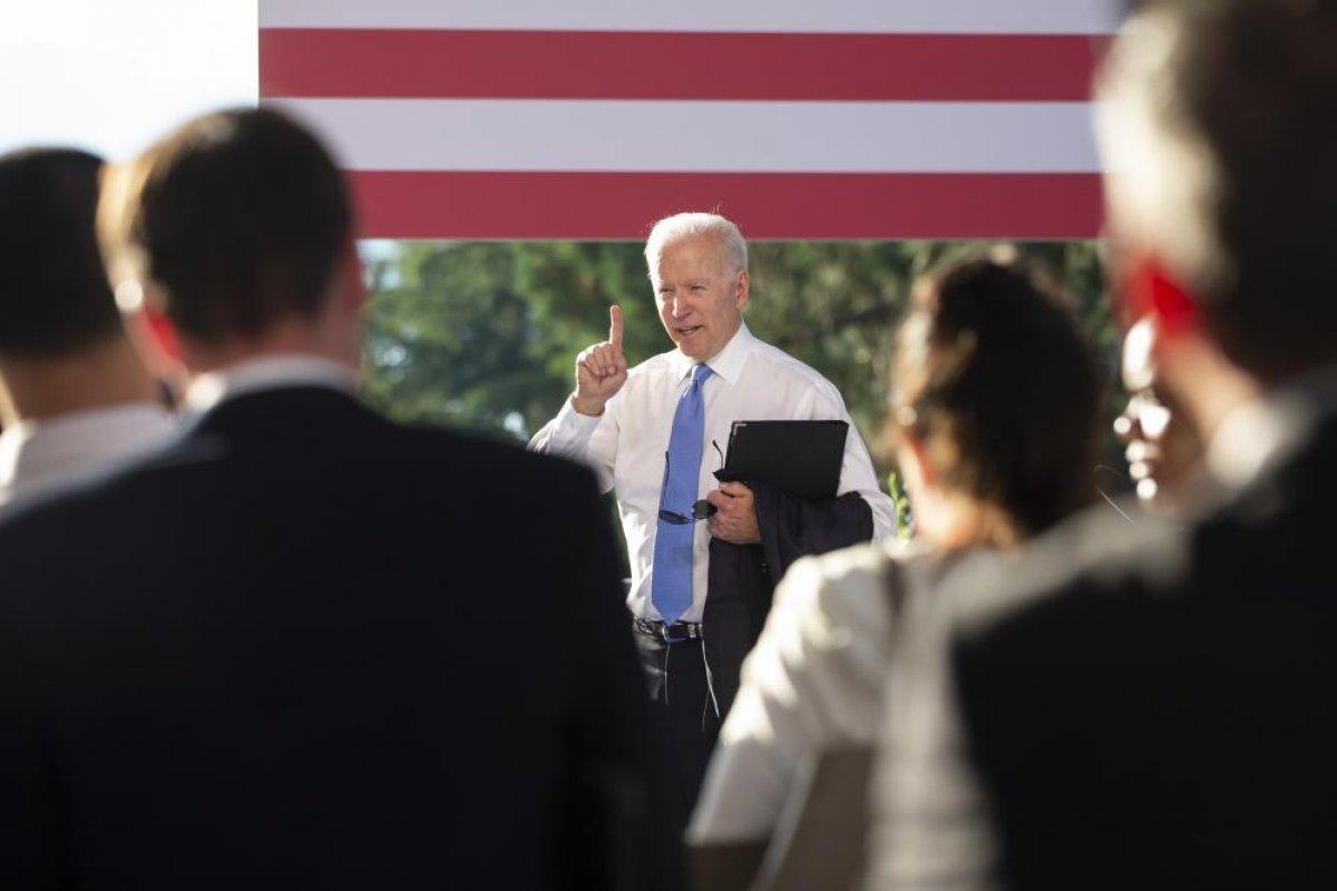 Joe Biden dan soru soran muhabire azar #1