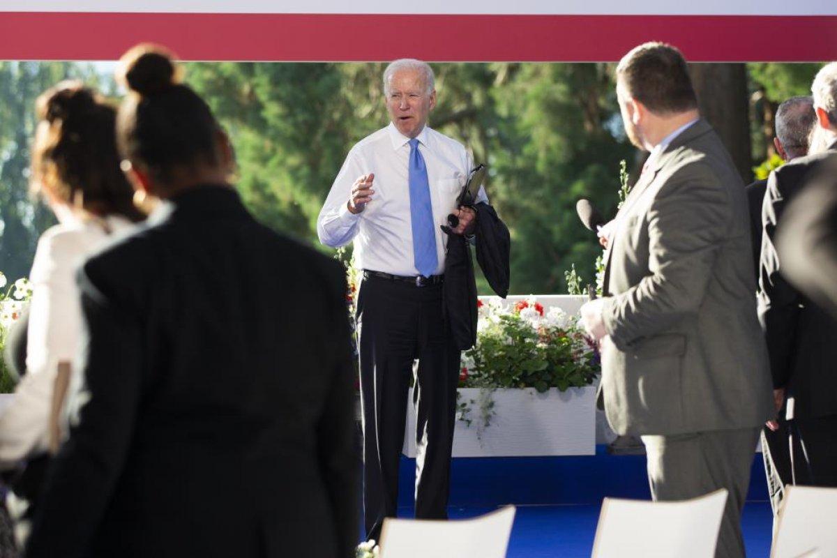 Joe Biden dan soru soran muhabire azar #2