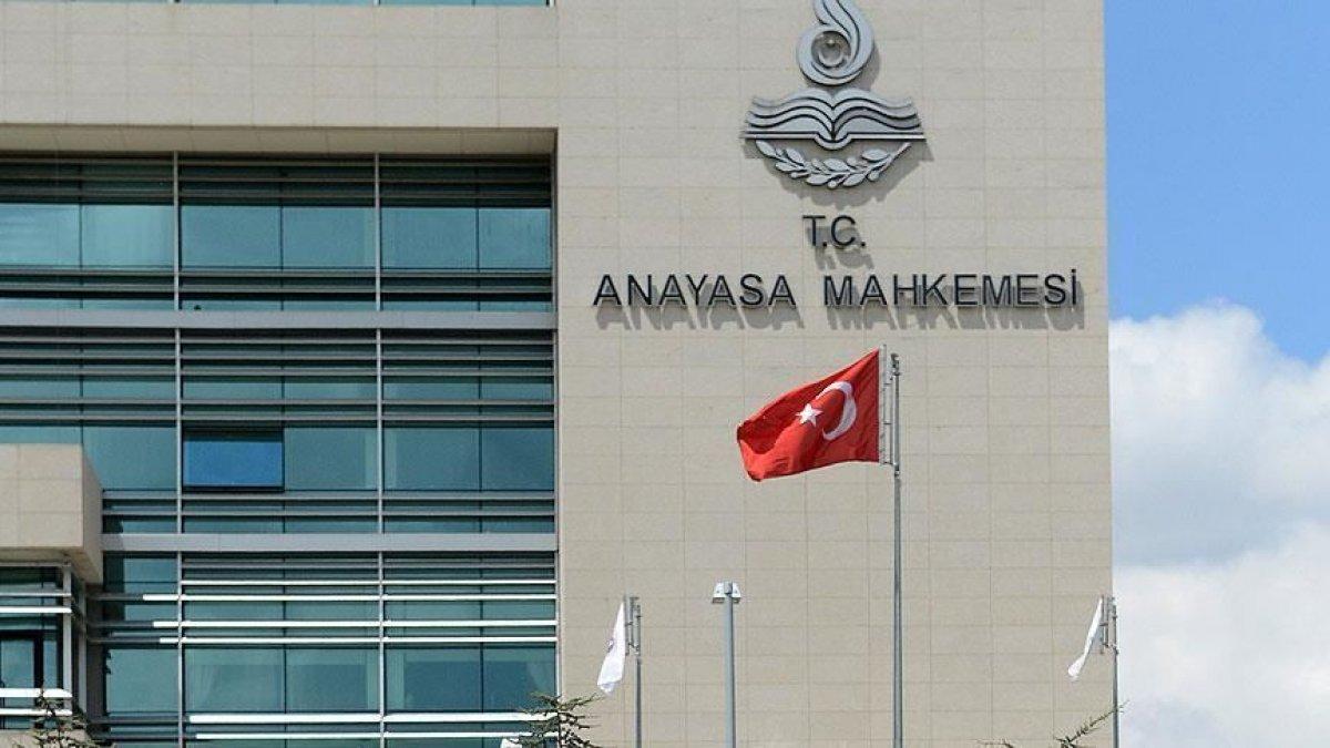 Anayasa Mahkemesi CHP nin talebini reddetti #1