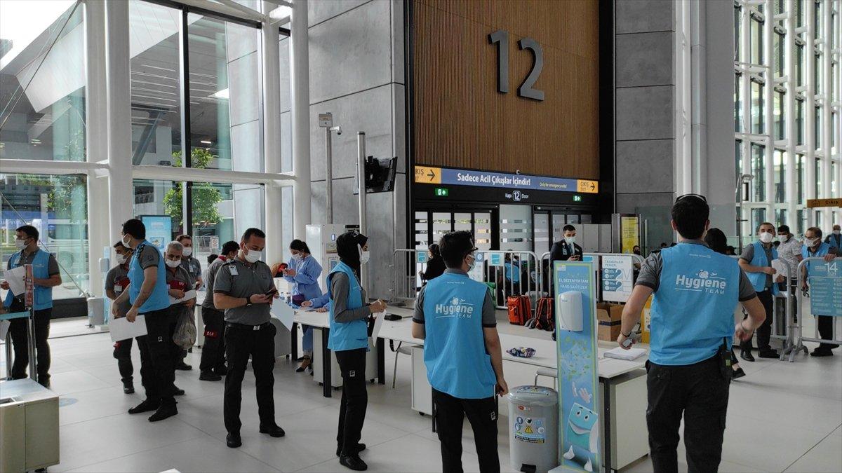 İstanbul Havalimanı nda aşı merkezi hizmete açıldı #5