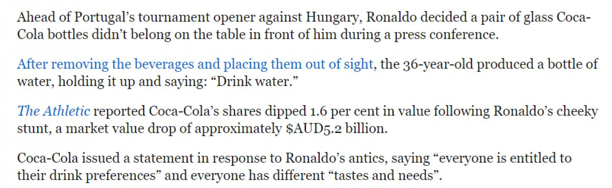Fox News, Ronaldo yu hedef aldı #1