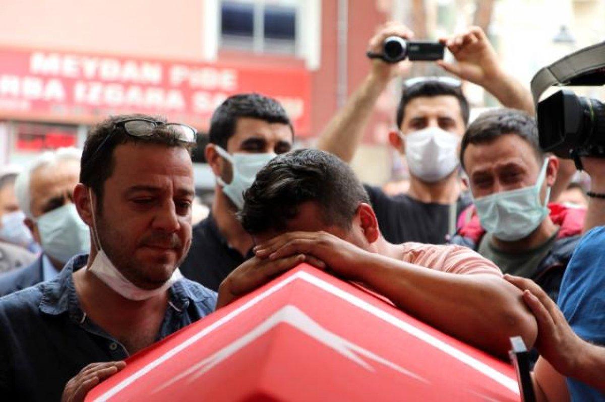 Şehit polis Ercan Yangöz son yolculuğuna uğurlandı #5