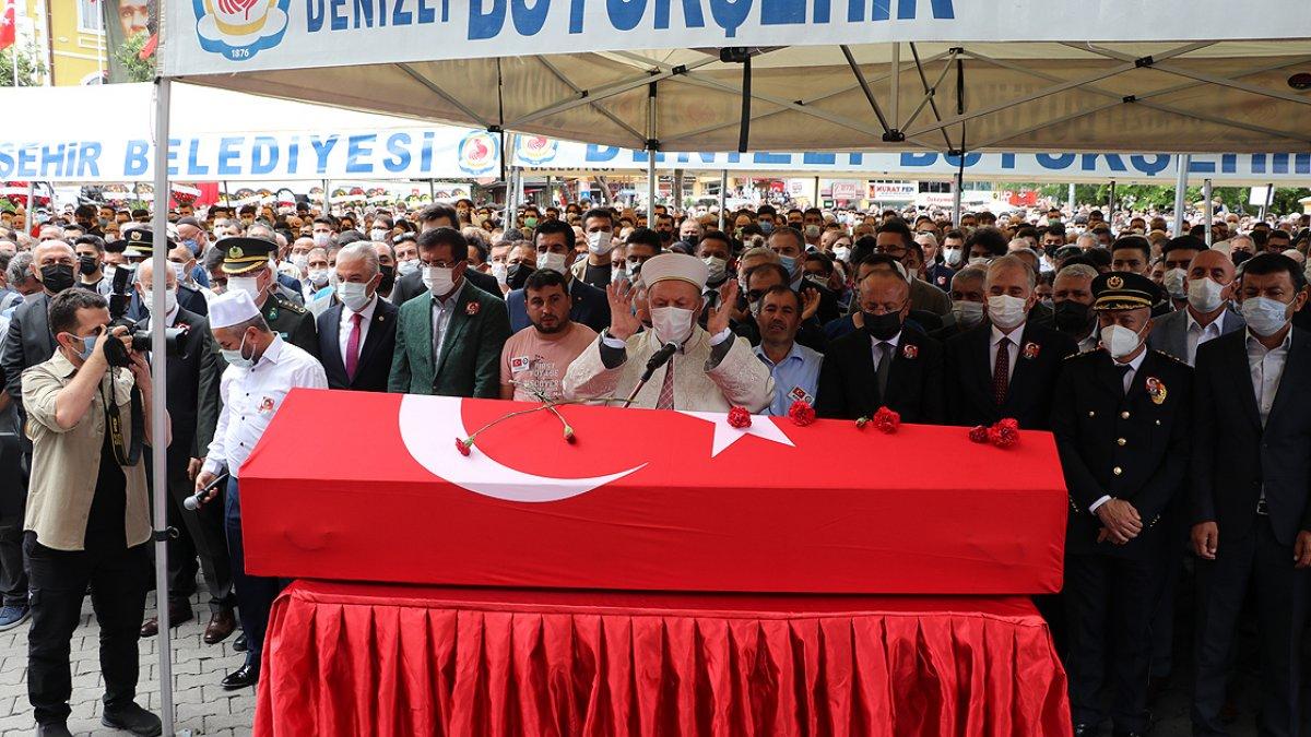 Şehit polis Ercan Yangöz son yolculuğuna uğurlandı #2