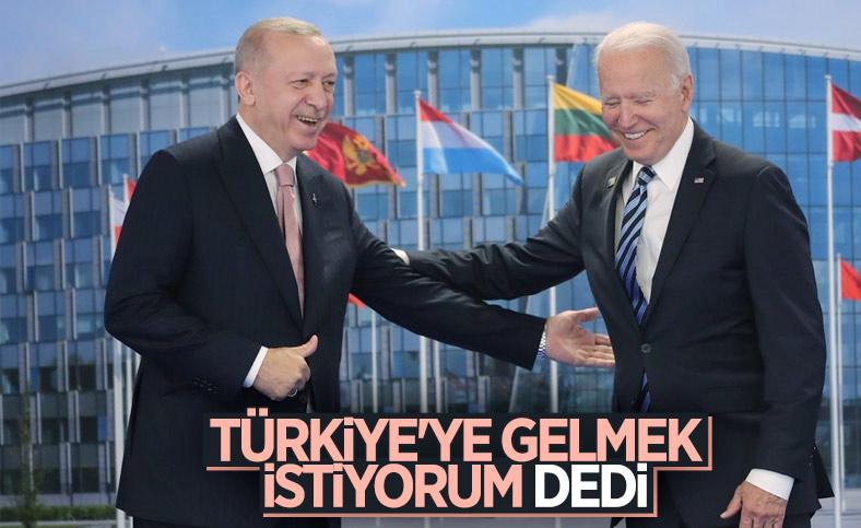 Joe Biden, Türkiye'yi ziyaret edecek