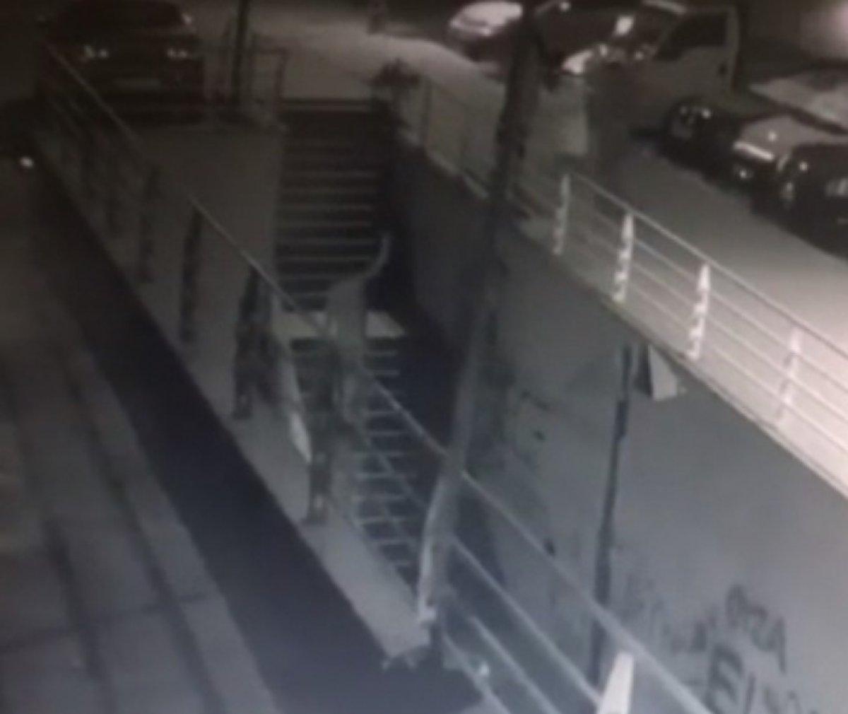 Esenyurt'ta köpeğe pompalı tüfekli saldırı anı kamerada #1