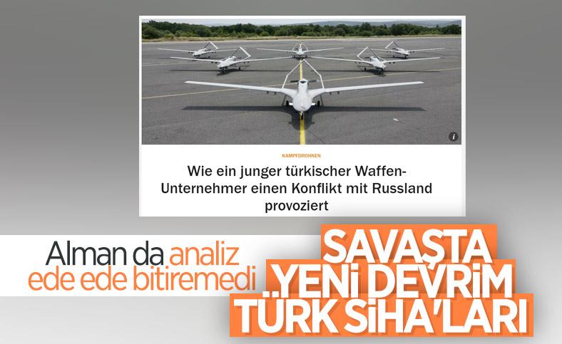 Alman basını: Türk SİHA'ları, savaşta devrimin yeni standardı