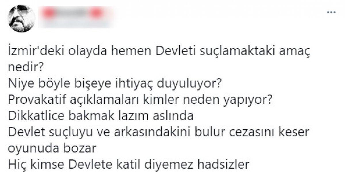 İzmir deki olayın ardından HDP lilerden  Katil devlet  sloganı #3