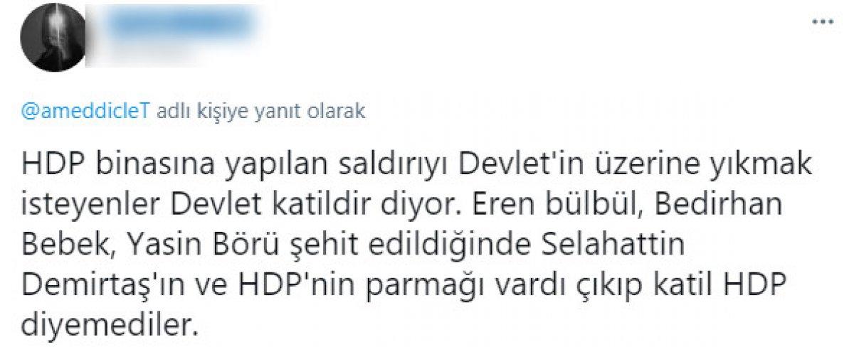 İzmir deki olayın ardından HDP lilerden  Katil devlet  sloganı #4