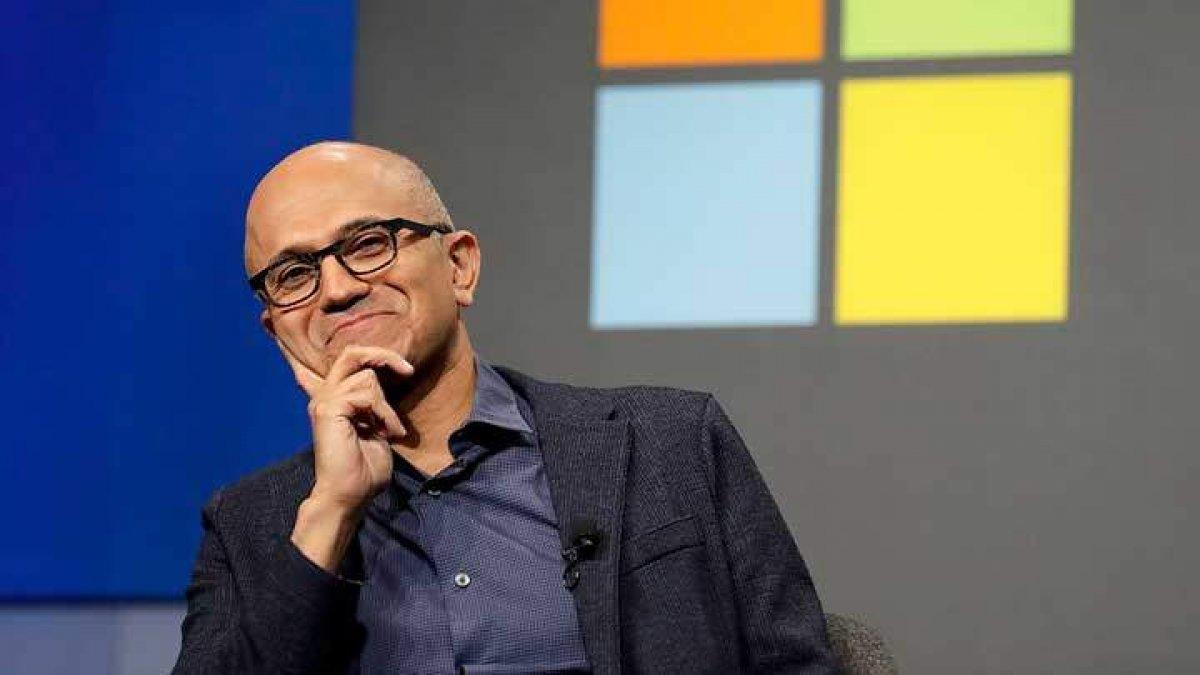 Microsoft CEO su Satya Nadella şirketin başkanı seçildi #1