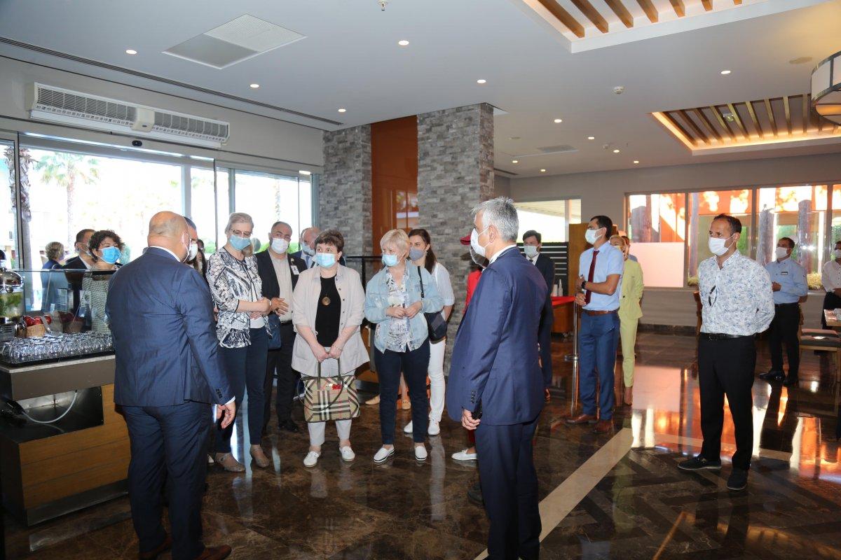 Türkiye'ye gelen Rus heyet çalışmalarına başladı #7