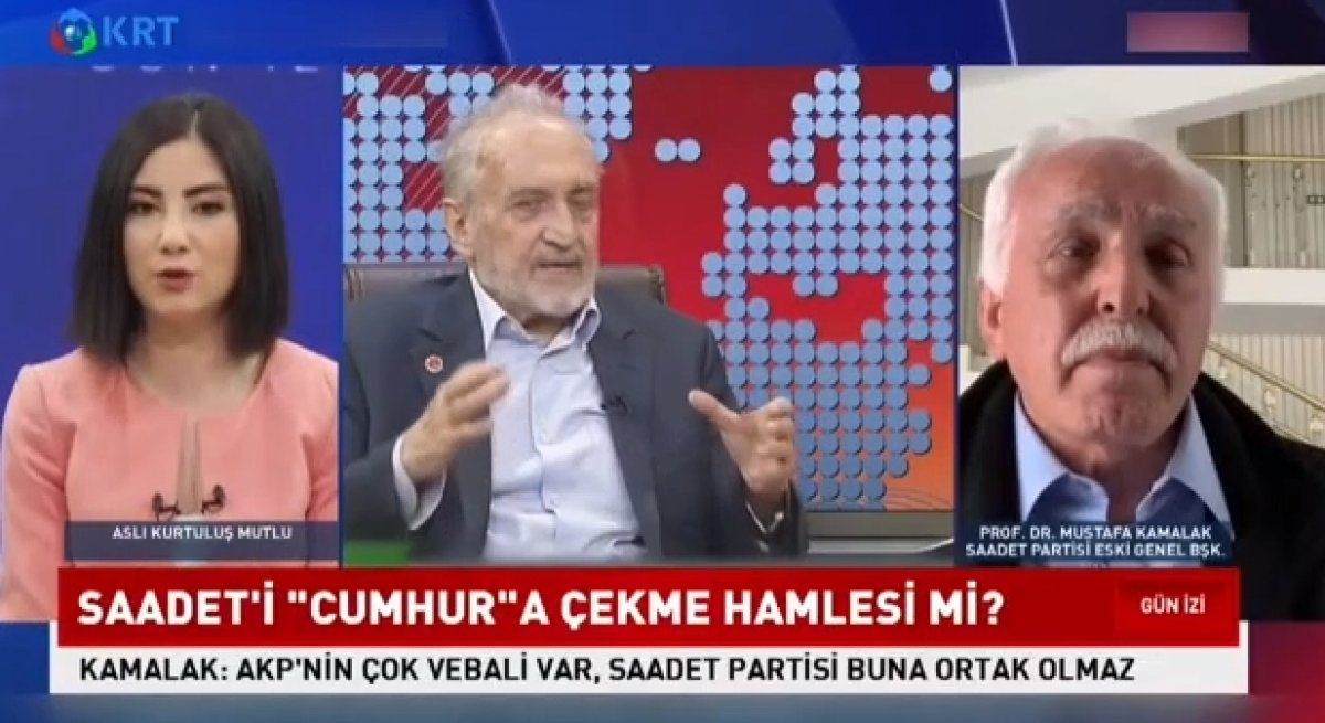 Mustafa Kamalak: Saadet Partisi Cumhur İttifakı na katılırsa felaket olur #1