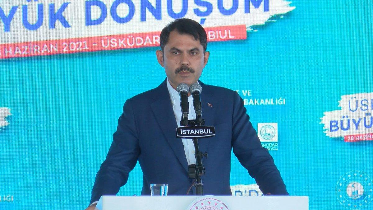 Murat Kurum, Üsküdar da 5 bin Yeni Konut Projesi nin törenine katıldı #1