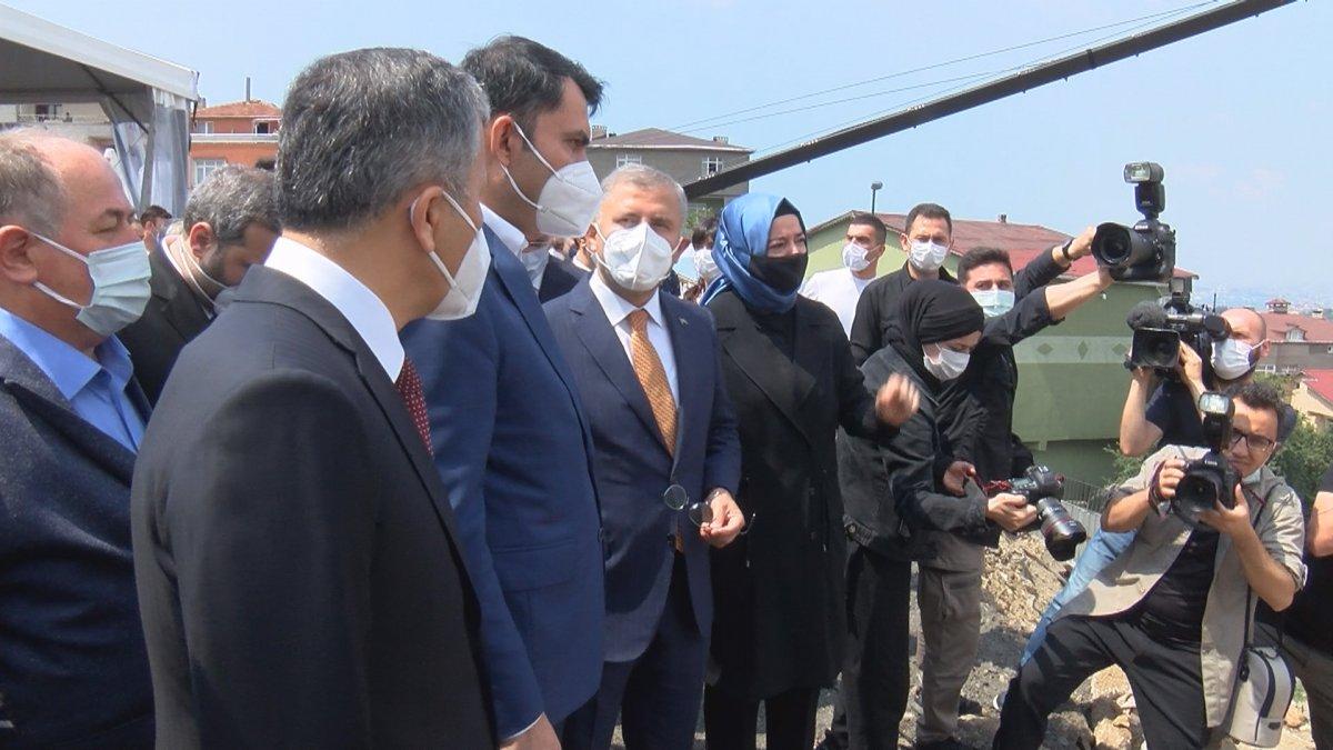 Murat Kurum, Üsküdar da 5 bin Yeni Konut Projesi nin törenine katıldı #3