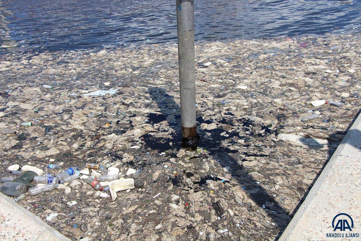 Balıkesir de müsilaj temizleme çalışmaları devam ediyor #1