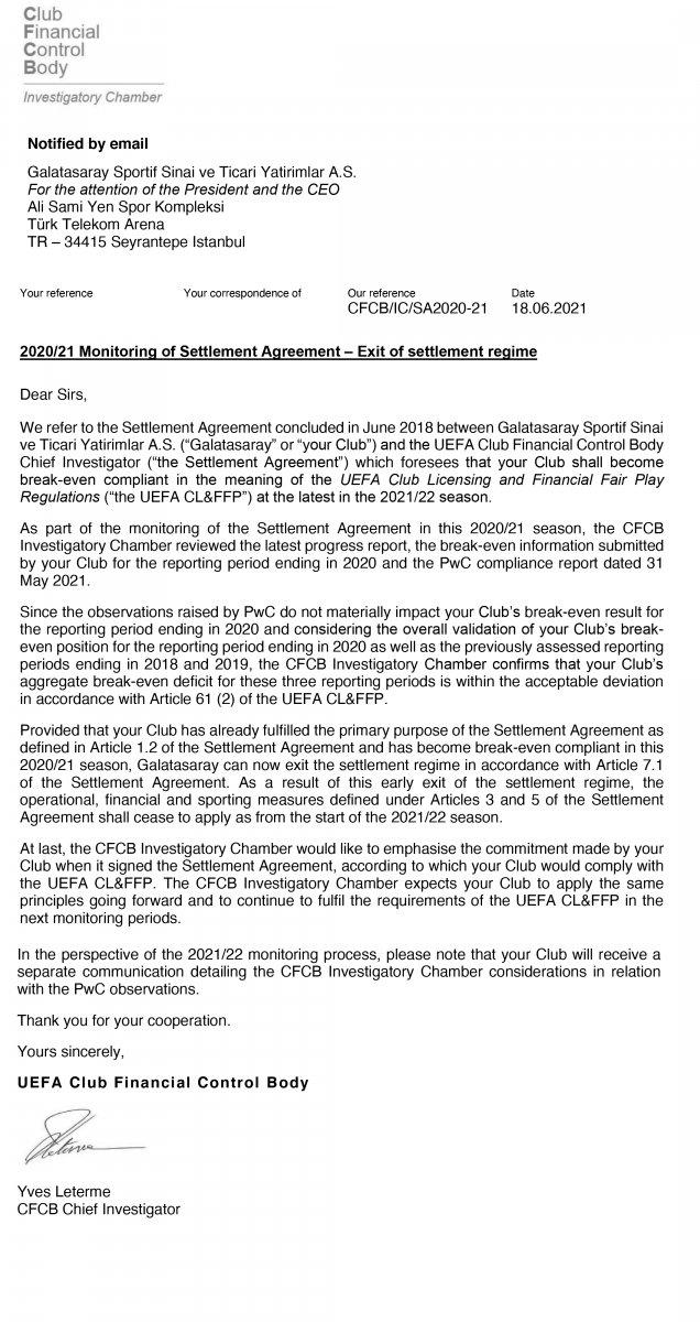 Mustafa Cengiz: Finansal Fair Play den çıkış yaptık #4
