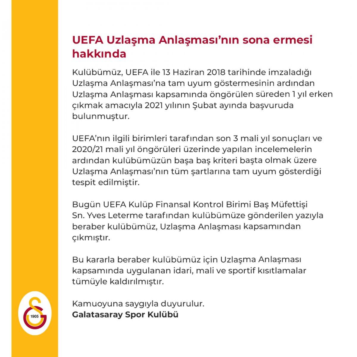 Mustafa Cengiz: Finansal Fair Play den çıkış yaptık #3