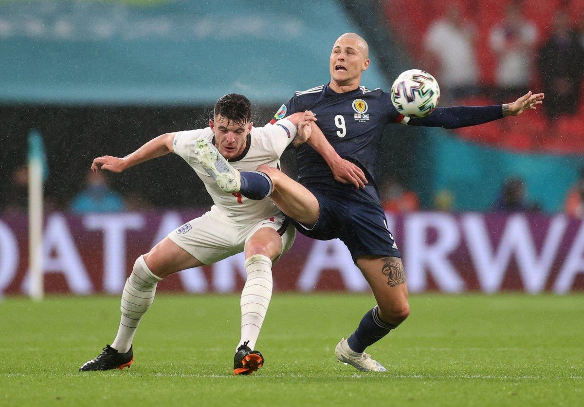 İngiltere ile İskoçya golsüz berabere kaldı #1