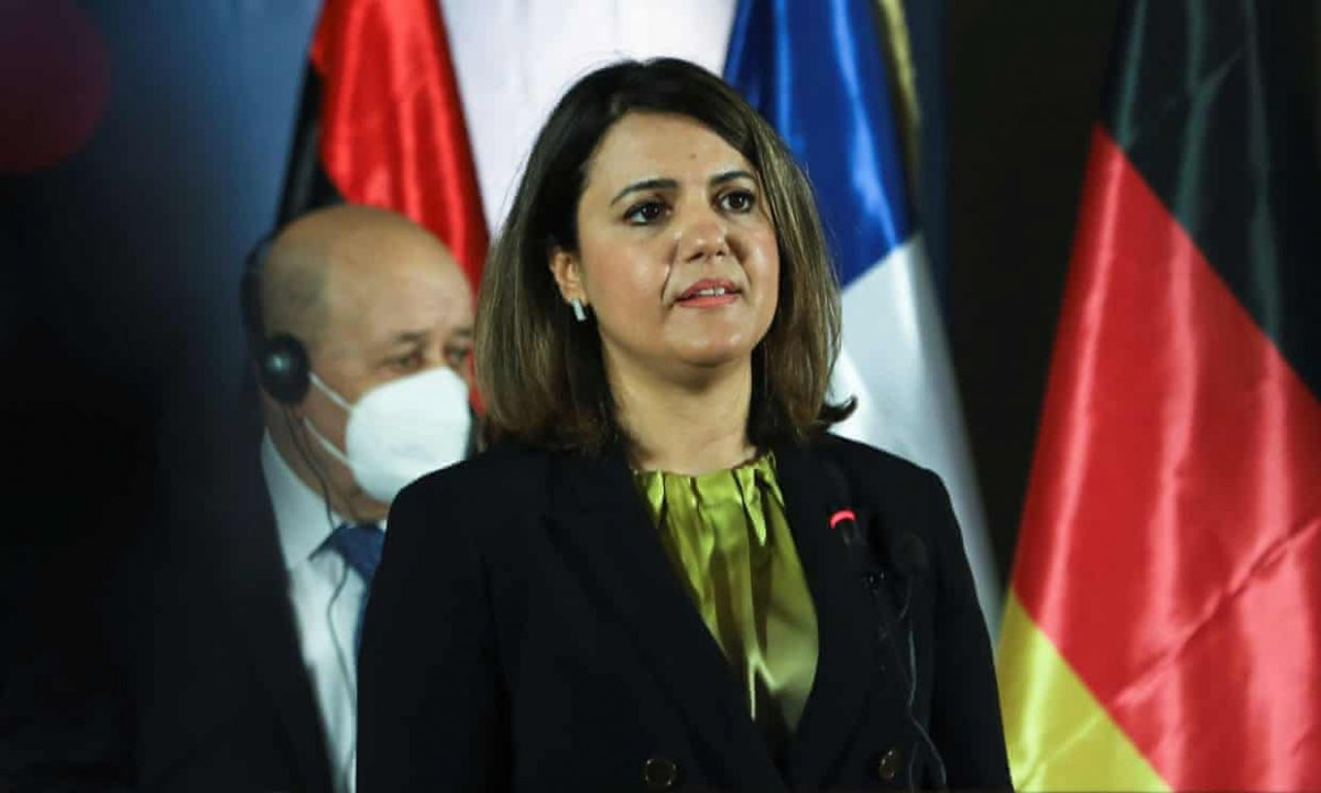 Antony Blinken ve Necla el-Menguş Libya Konferansı nı görüştü #1