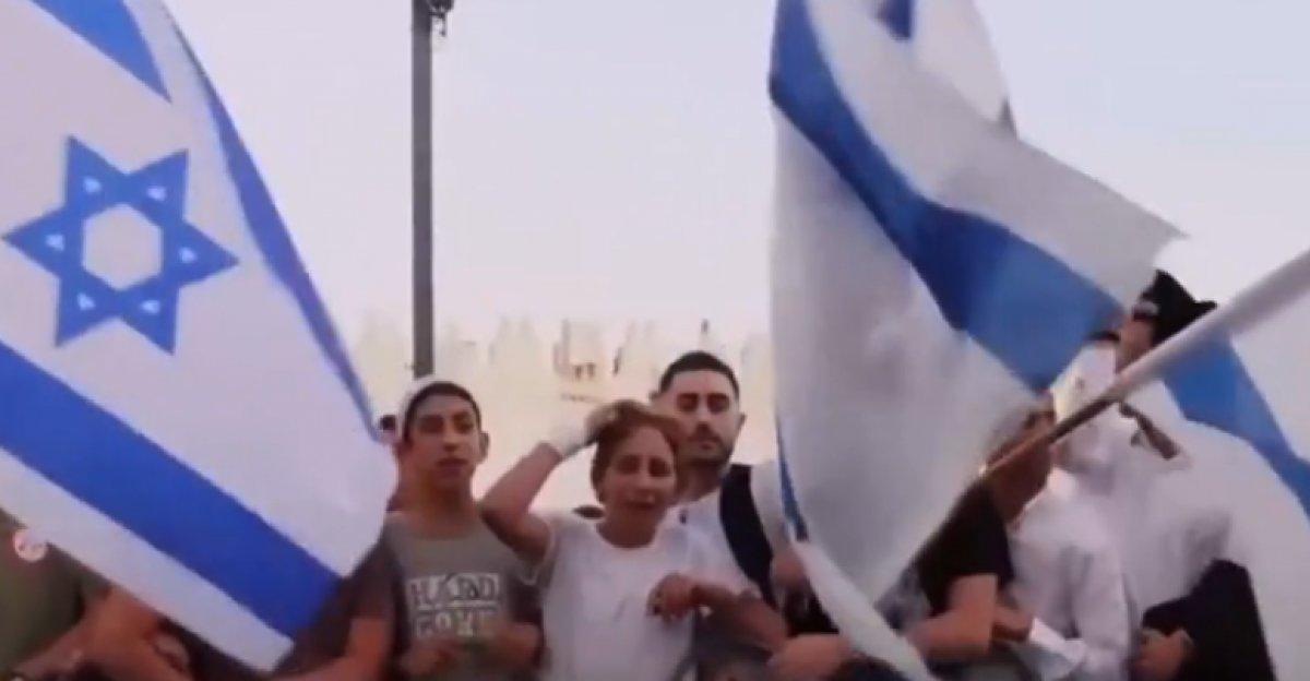 İsrailliler Hz. Muhammed e ve Filistinlilere hakaretler yağdırdı #2