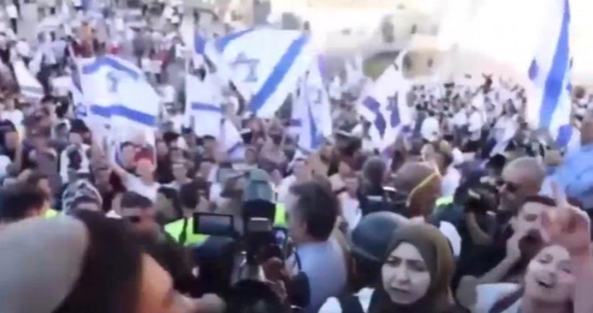 İsrailliler Hz. Muhammed e ve Filistinlilere hakaretler yağdırdı #3