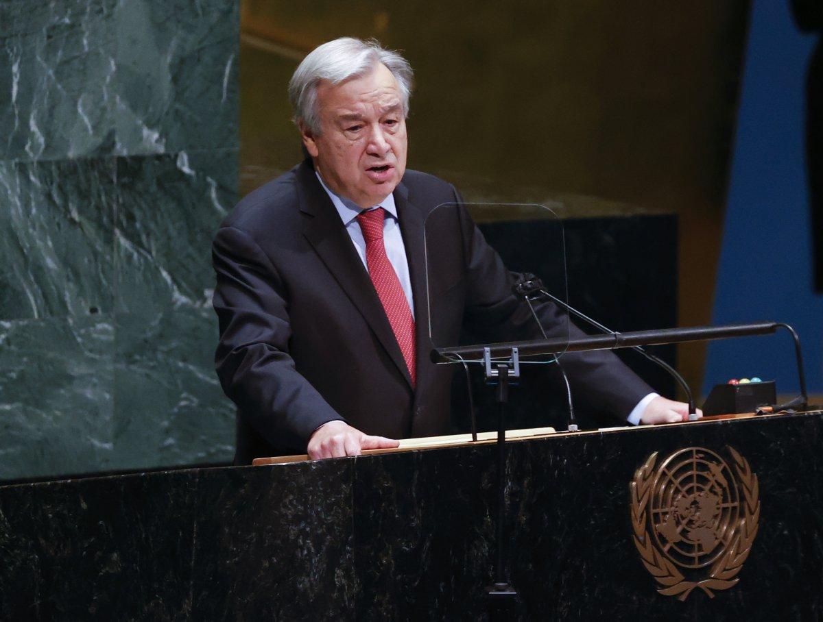 Antonio Guterres, BM Genel Sekreterliğine ikinci kez atandı #1