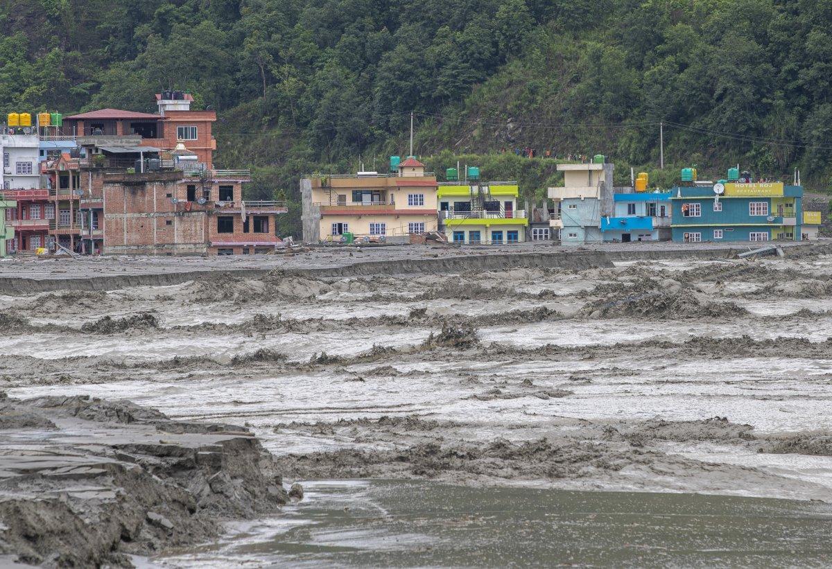 Nepal'de sel ve heyelan felaketi can aldı #6