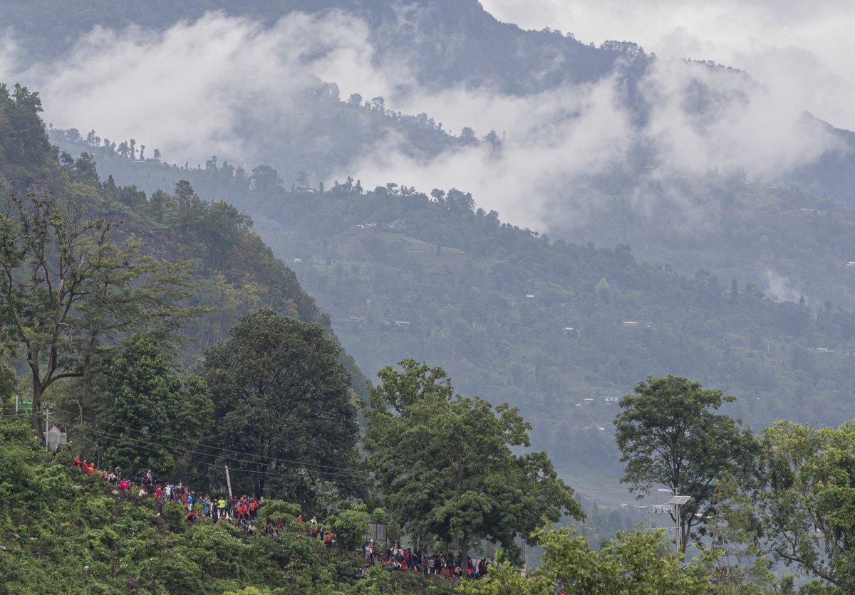Nepal'de sel ve heyelan felaketi can aldı #7