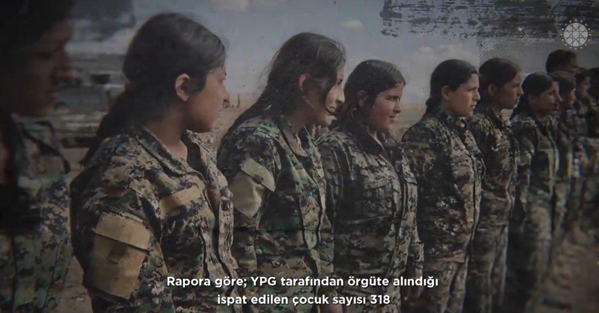 Fahrettin Altun: YPG çocukları sömürmeye devam ediyor #3