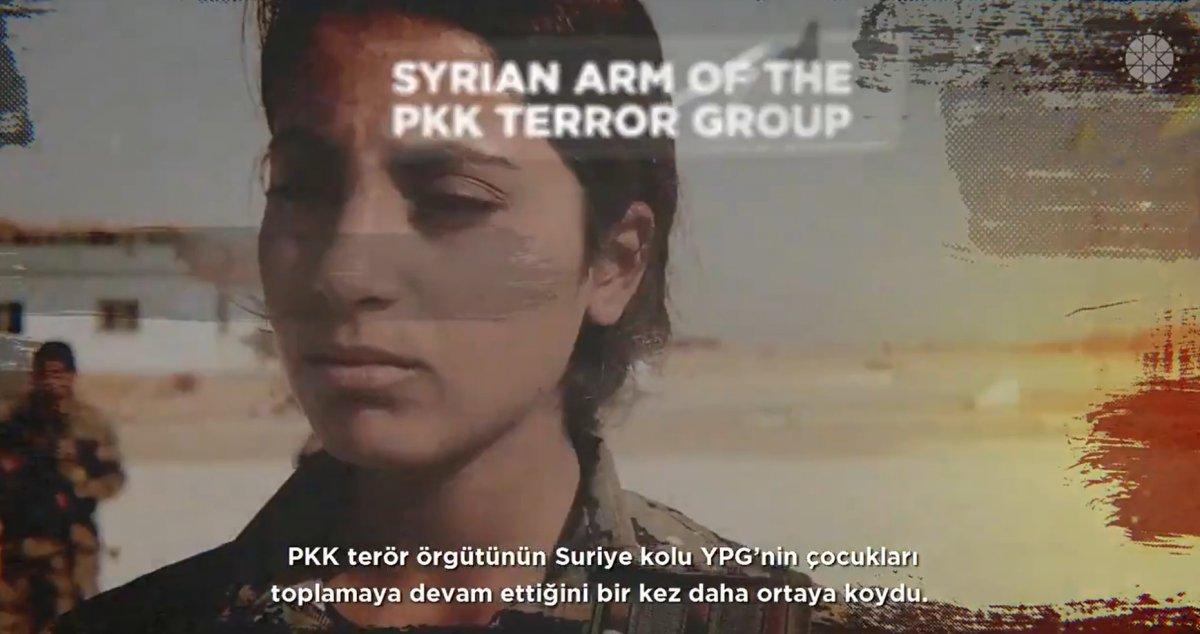 Fahrettin Altun: YPG çocukları sömürmeye devam ediyor #1