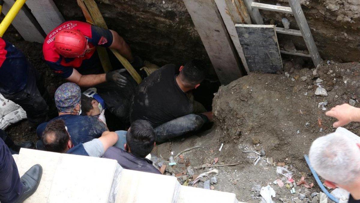 Zonguldak ta arkadaşına yardıma gelen asker, toprak altında can verdi #1