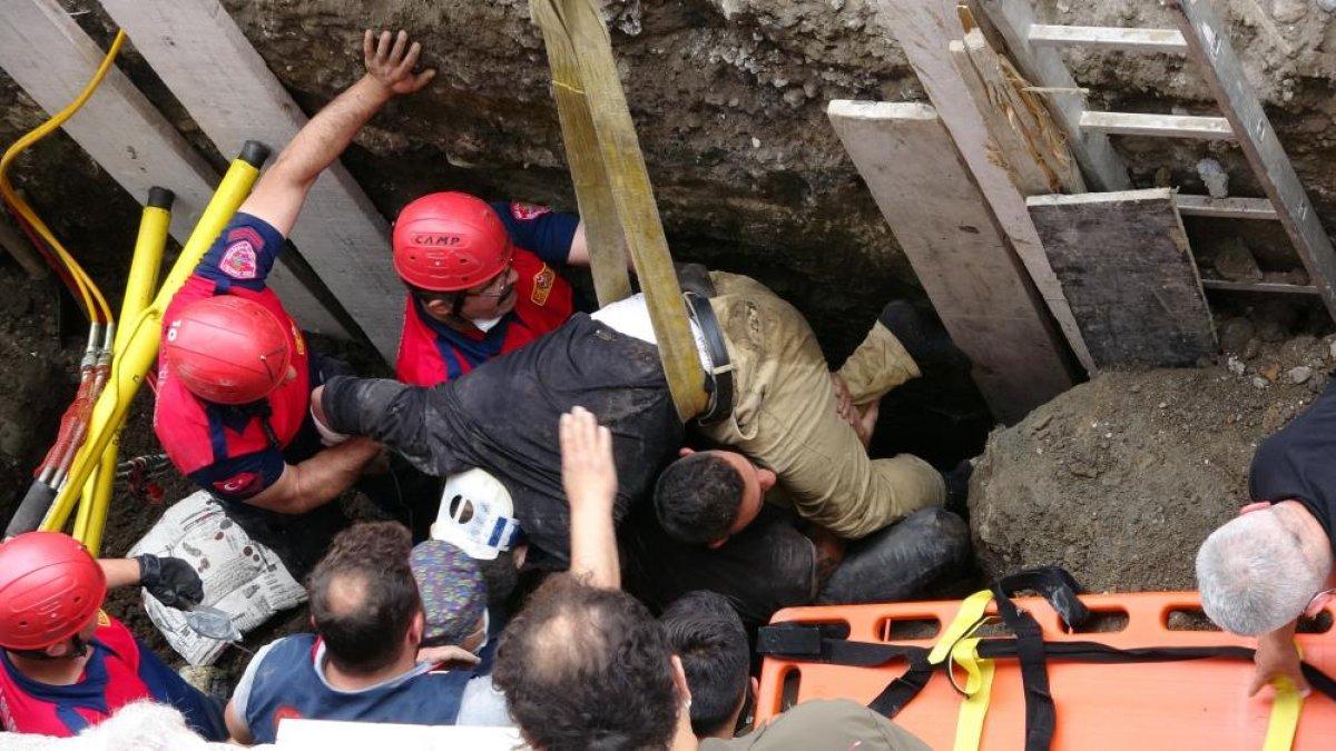 Zonguldak ta arkadaşına yardıma gelen asker, toprak altında can verdi #3