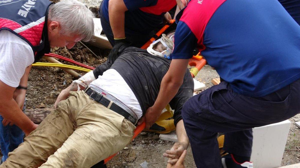 Zonguldak ta arkadaşına yardıma gelen asker, toprak altında can verdi #4