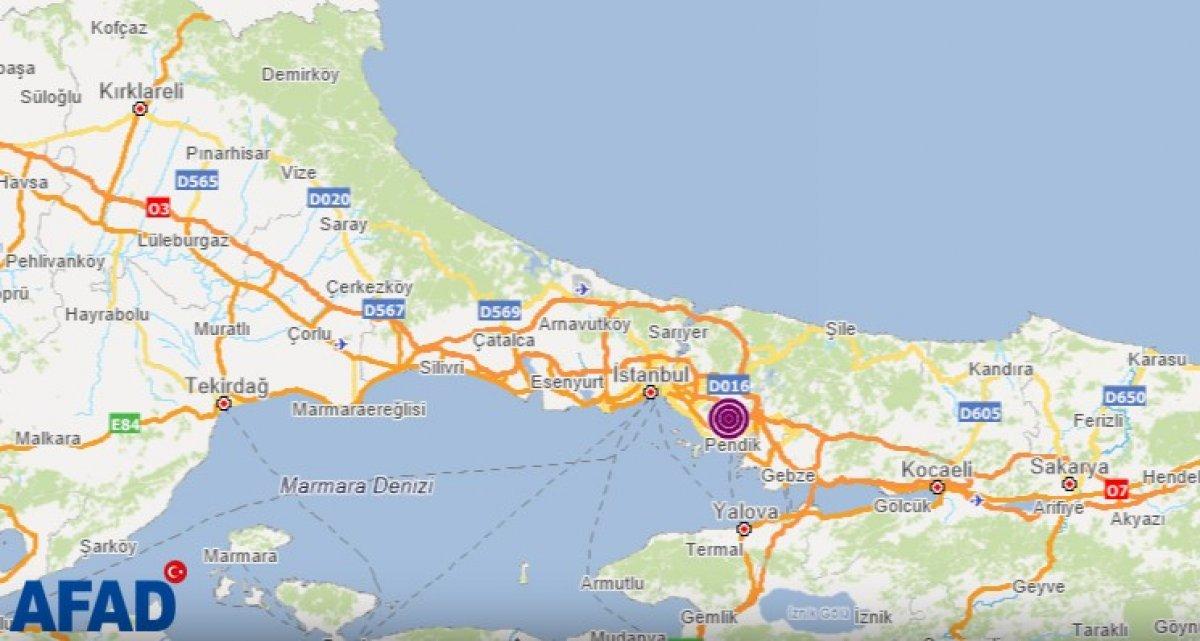 İstanbul da deprem #1
