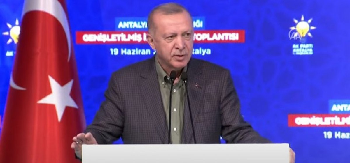 Cumhurbaşkanı Erdoğan dan İzmir deki HDP binasına saldırı hakkında açıklama #1