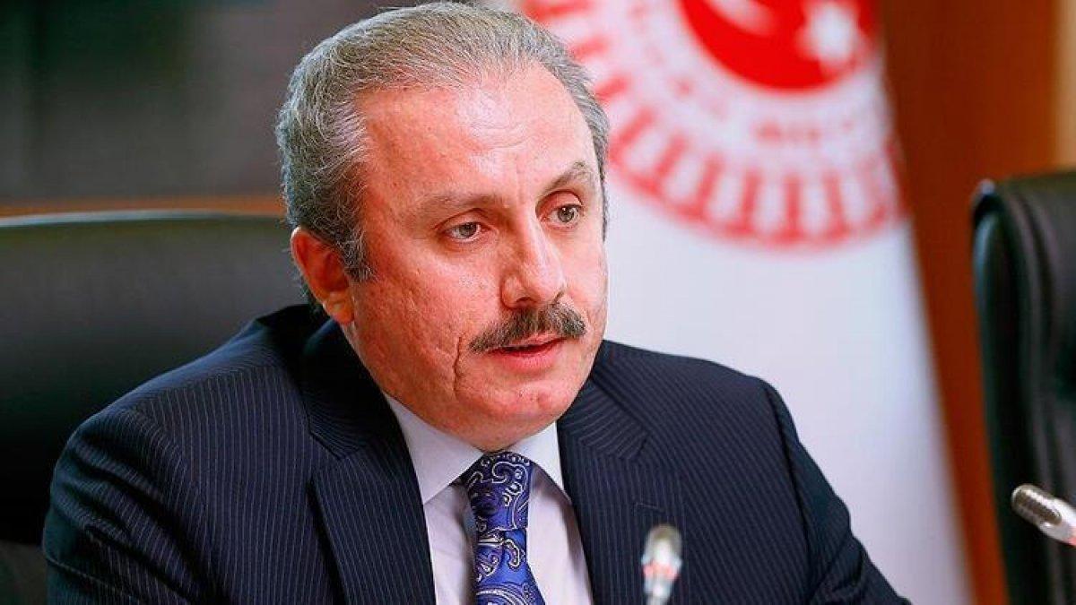 Mustafa Şentop, AK Parti binasına yönelik saldırıya kınama #1