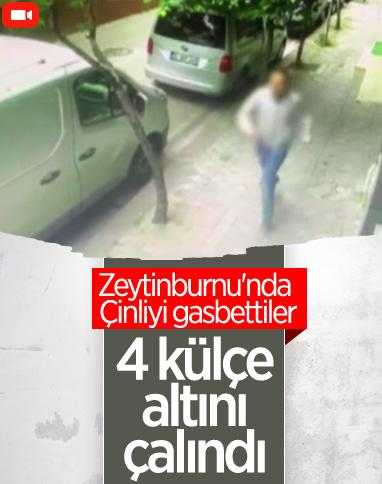 Zeytinburnu'nda Çinli iş insanına gasp
