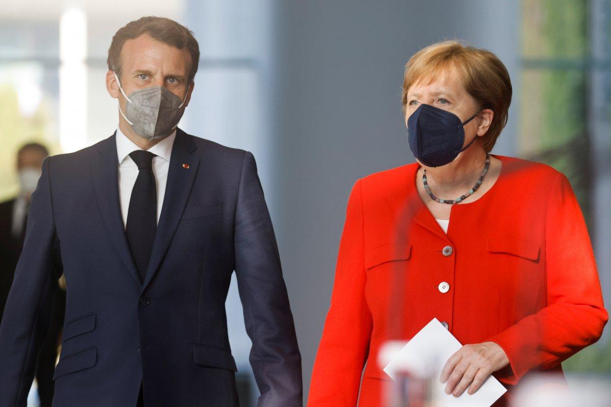 Angela Merkel: Türkiye ye bağımlıyız #2