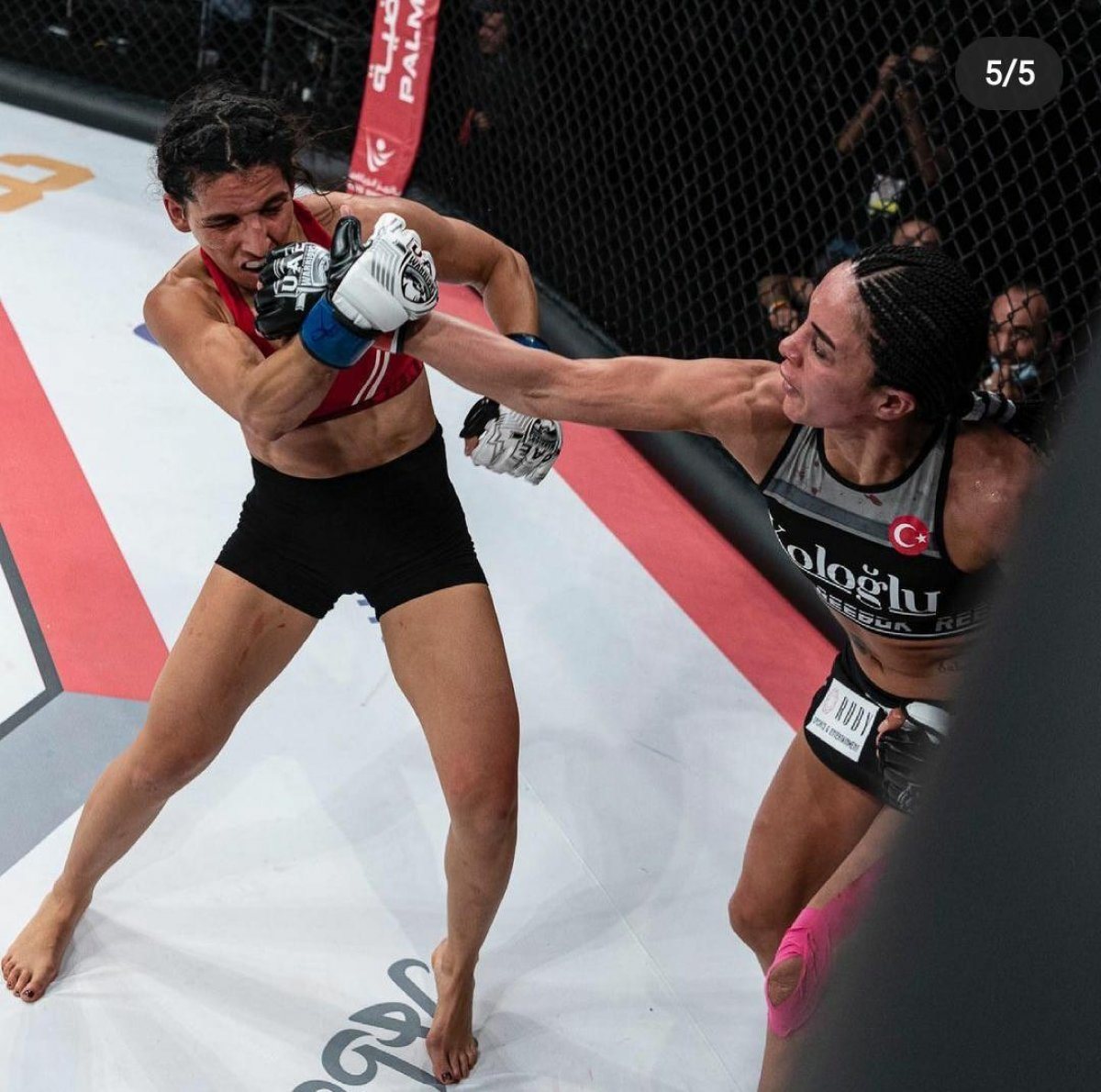 Sabriye Şengül MMA de kazanan ilk Türk kadın oldu #1