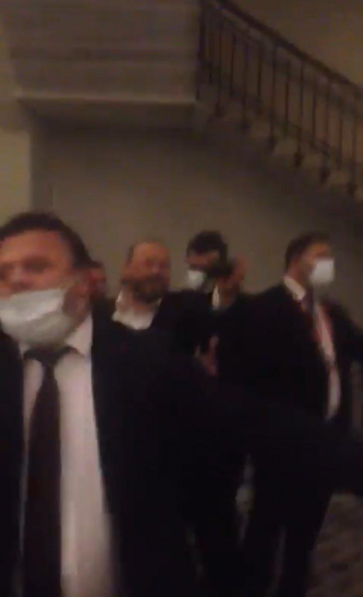 Galatasaray başkanlık seçiminde hakaret gerginliği #3