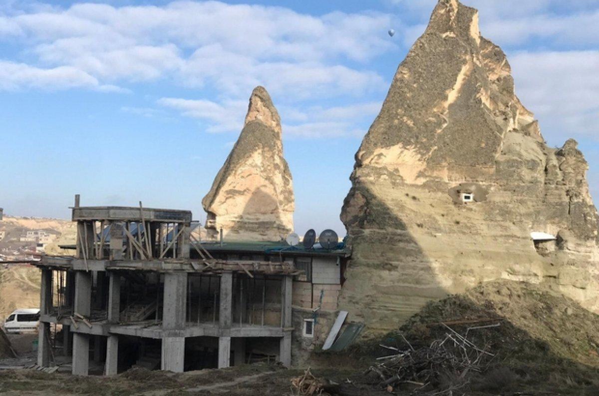 Kapadokya nın yapısını bozanlara 200 bin liraya kadar ceza #1